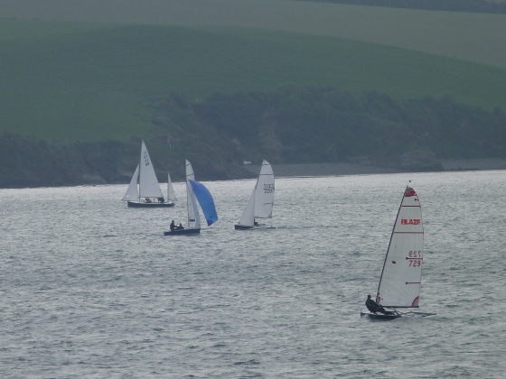 Boats on the Camel Padstow