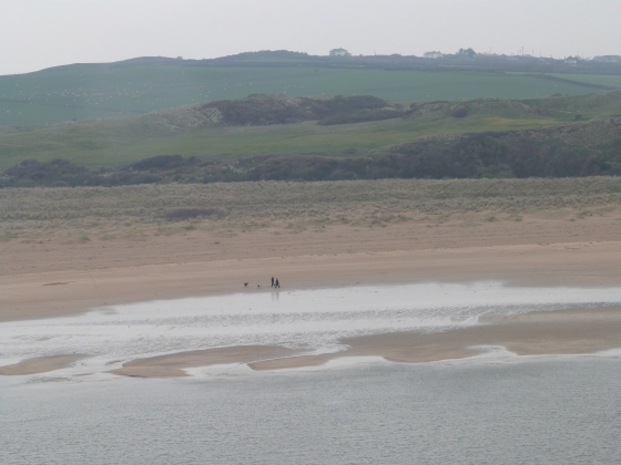 Camel Estuary towards Rock