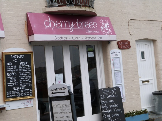 Cherry Trees cafe on Padstow harbour