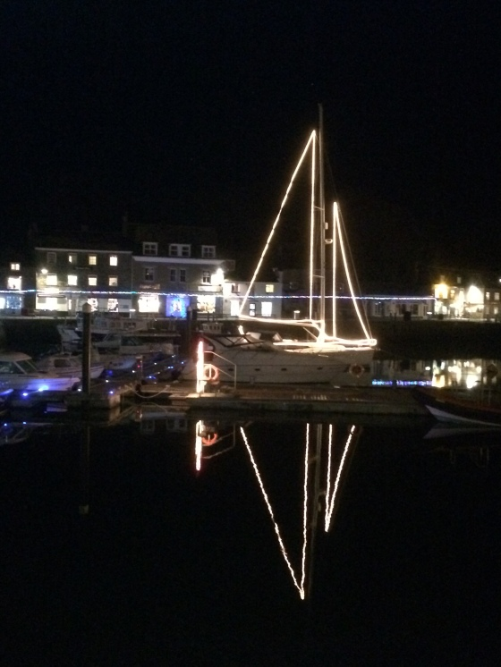 Padstow Christmas Lights