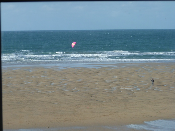 View from Jamie Oliver's Fifteen Restaurant in Watergate Bay
