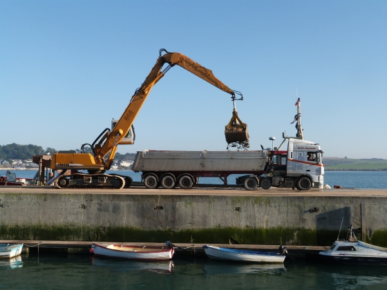 Dredging in Padstow Harbour